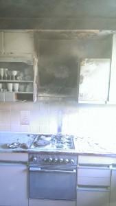 Požar kuhinje